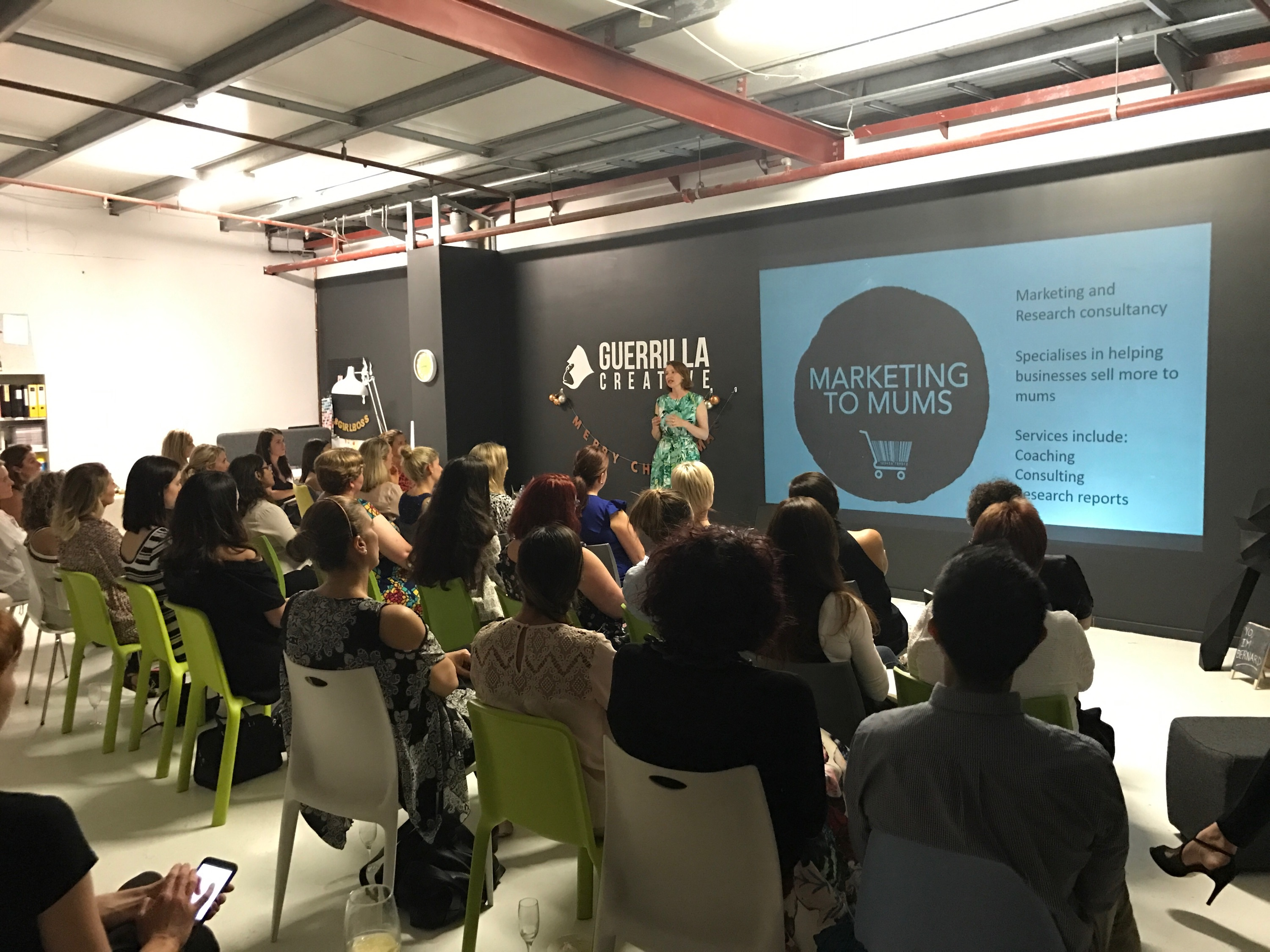 Marketing To Mums Perth Event Dec 2016